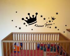 Wandtattoo Kleiner Prinz Wandaufkleber 25 Farben Wandsticker Kinderzimmer Deko