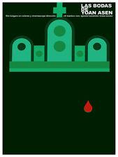 5791.LAs bodas de Yoan Asen Movie Poster. Room Interior Design.Decoration Art