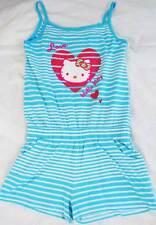 hello kitty filles MARKS & spencer coton Combinaison, short barboteuse neuf âge