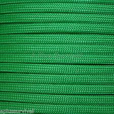 Kelly Green Paracord 50 Feet 550 lb 7 Strand Emergency Survival Bracelet