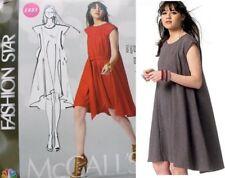 McCALL'S FASHION STAR M6553 MISSES' LOOSE-FIT MUMU DRESS SEWING PATTERN SZ 6-22
