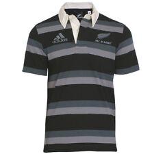 adidas Shirt Poloshirt All Blacks Polo [S-XXL] Kurzarm Jersey schwarz-grau NEU
