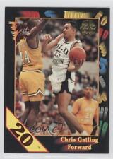 1992-93 Wild Card Collegiate 20 Stripe #86 Chris Gatling Old Dominion Monarchs
