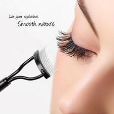Makeup Mascara Eyelash Applicator Guide Comb Eyebrow Brush Curler Beauty Tool LA