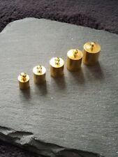 Consejos De Oro Plateado Extremo Tapas Para 5 mm 6 mm 7 mm 8 mm o 9 mm cables Kumihimo vendedor del Reino Unido