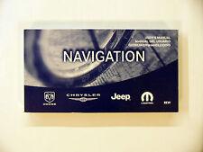 REW RER RHR / RHB RBZ Chrysler Jeep Dodge Radio Navigation/Uconnect User Manual