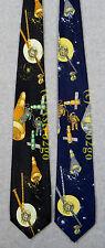 VOYAGER MIR SPACE CRAFT WALK STATION ASTRONOMY SCIENCE ICISSA Necktie NEW! RARE!