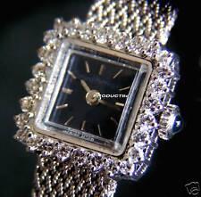 GIRARD-PERREGAUX LADIES 18K & DIAMOND MECHANICAL WATCH