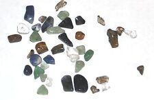 20g GENUINE GEMSTONE CHIP CHIPSTONE CHIPS JEWELLERY CRAFT BEADS - Various stones