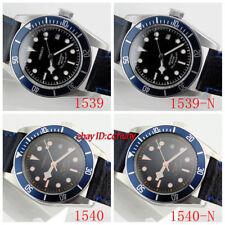 Corgeut 41mm blue bezel Black dial Sapphire Glass miyota 20ATM Automatic Watch
