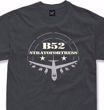 B52 T-Shirt Army US Bomber Aircraft Stratofortress B-52 tshirt + longsleeve