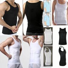 Men Body Slimming Tummy Shaper Underwear shapewear Waist Girdle Shirt Vest Tank