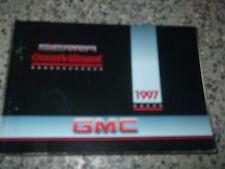 1997 GMC SIERRA Owners Manual BOOK NICE GENERAL MOTORS GMC TRUCK MANUAL GM X