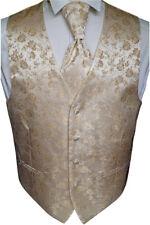 beytnur Gilet Cravate Pochette de mariage, Cravate n°16.4 gr.44-62 & 90-114