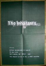 INHALANTS Estrus rare U.S. promo POSTER 1996