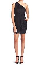 BCBGeneration Black Flounce Dress $128 NWT