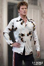 Screen Accurate FIGHT CLUB Toucan Shirt, Tyler Durden, Brad Pitt, Disco Shirt