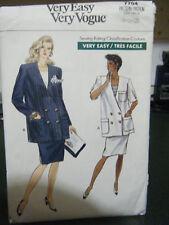 Vintage Vogue #7704 Maternity Suit Pattern - Sz 8/10/12