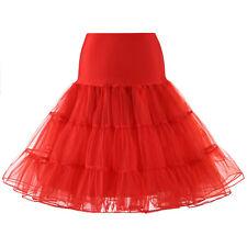"""2018 26"""" Retro Underskirt/Swing Vintage Petticoat/Rockabilly Fancy Net Skirt"""