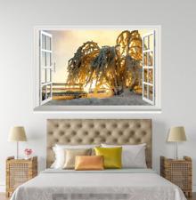 3D Plant Sunlight 0127 Open Windows WallPaper Wandbilder Wall Print AJ Jenny