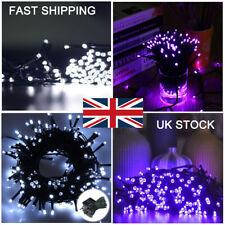 100-500 LED Solar Fairy Lights String Christmas Garden Outdoor Tree White/Purple