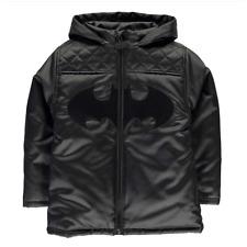 BATMAN 3-4 ans / 4-5 ans / 7-8 ans blouson capuche DC COMICS noir manteau NEUF