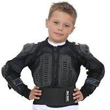 Kids motocicleta cuerpo seguridad chaqueta motocross motocicleta spine protector chaqueta