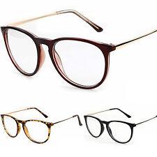 Schlüsselloch Durchsichtige Linse Mode Retro Brillen Schlankes  Gestell Damen