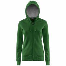 KAPPA WESON pallavolo FELPA giacca BAMBINA CAPPUCCIO 4VOLLEY Sportiva verde 486c
