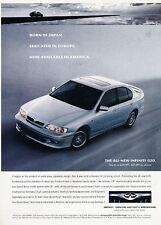 1999 Infiniti G20 G20t -  Classic Vintage Advertisement Ad D08