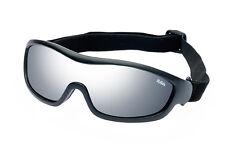 Ravs Sportbrille, Schutzbrille, Skibrille, Sonnenbrille  mit silber glass mirror