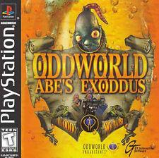 Oddworld - Abe's Exoddus, Good Playstation Video Games