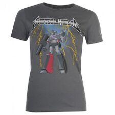 Transformers Megatron Metal Head Print Official Ladies Skinny T-Shirt Var Sizes