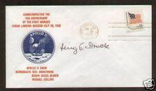 Heinz Struck signed Postal Cover Von Braun Rocket Team