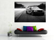 BMW 1 SERIES M SPORTS GTR NISMO CAR 3D EFFECT WALL STICKER POSTER VINYL VIEW 315