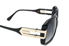 Designer Oversized Aviator Sunglasses Square Frame Men Fashion Black Brown Gold