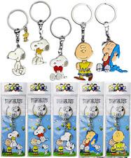 Peanuts Schlüsselanhänger Metall Figur, Snoopy Charlie Brown Linus Woodstock NEU