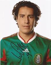 México: Efraín Juárez Firmado Foto Retrato 10x8 + certificado De Autenticidad