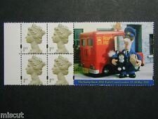 HB19 Unfolded Postman Pat Booklet Pane  SG 2124bl UMM