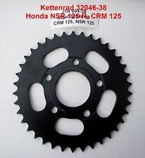 Kettenrad Honda NSR 125, NSR125, CRM 125, CRM125, 38 Zähne, 32046-38, 604-38 neu