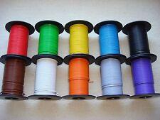 ( 0,168 EUR/m ) 25 m Kabel Litze Schaltlitze Kupferlitze 0,25 mm² freie Farbwahl