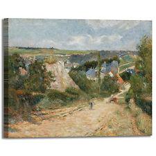 Gauguin ingresso villaggio Osny quadro stampa tela dipinto telaio arredo casa
