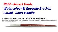 Neef 970 Robert Wade White Taklon Watercolour Round Brush (All Sizes Available)