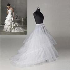 Regular or Plus size 2 hoops Wedding Gown Train Petticoat Crinoline Underskirt