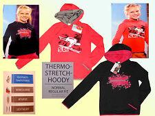 Mädchen Ski Thermo Hoody  Pullover Fitness Pulli Sportshirt Stretchshirt 116-152