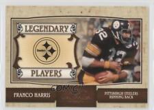 2007 Donruss Classics Legendary Players #LP-7 Franco Harris Pittsburgh Steelers