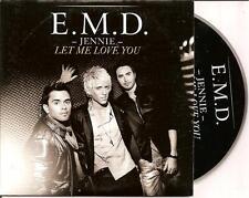 E.M.D. - jennie let me love you CD SINGLE 2TR Eurovision 2008 (DANNY SAUCEDO)