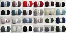 Lang Super Soxx 6-fach 6ply hochwertige Sockenwolle uni freie Farbwahl
