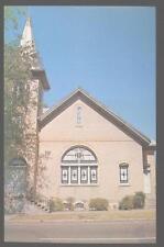 Postcard EUTAW Alabama/AL  Disciples of Christ Christian Church view 1960's