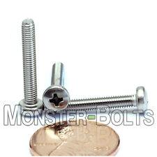 M3 x 20mm  Stainless Steel Phillips Pan Head Machine Screws, Cross Recessed A2